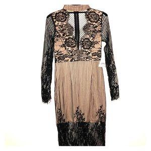 Black/Nude dress